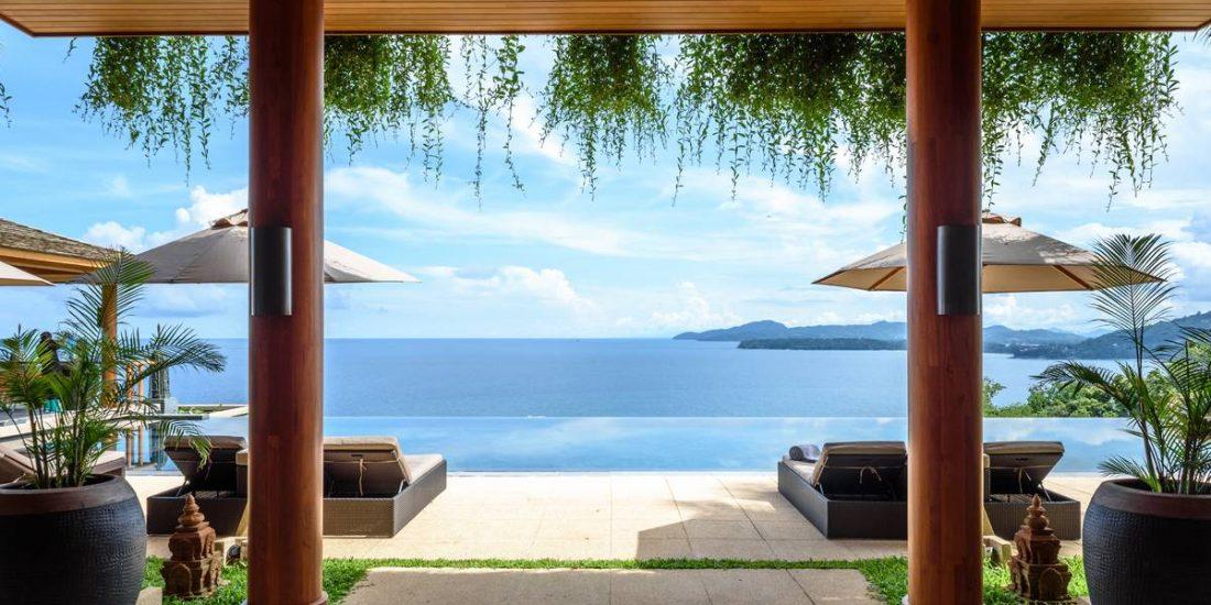 A Stunning villa with beautiful sea views