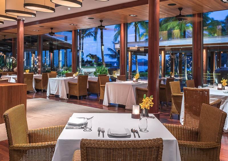 Fine Dining at SILK restaurant - Andara Property Facilities