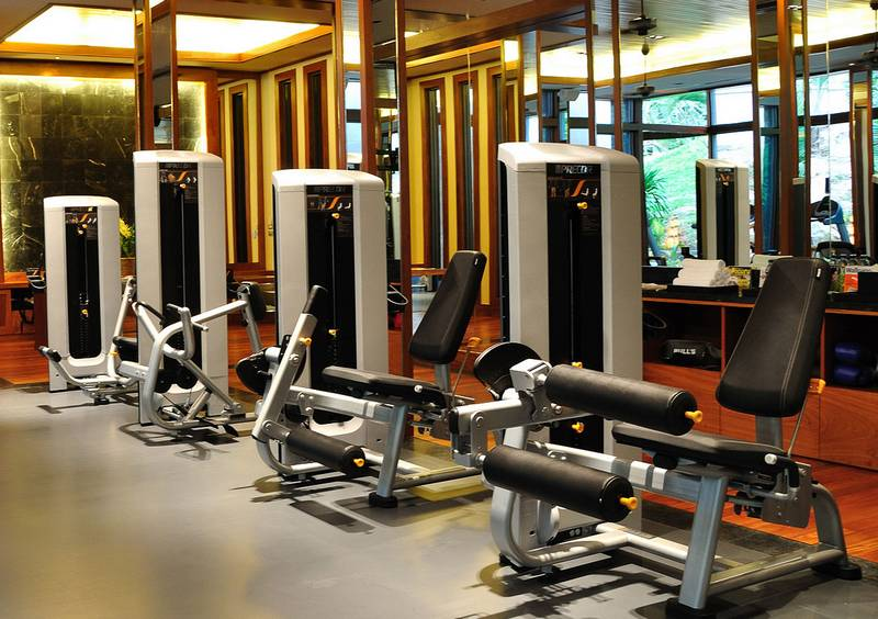 Gym at Andara Property - luxury Kamala Beach Resor